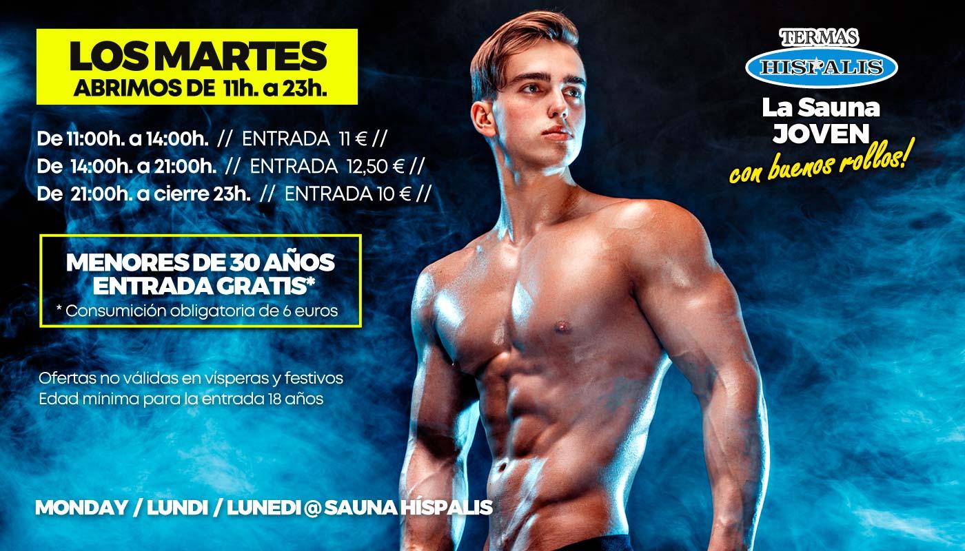 la mejor sauna gay de Sevilla