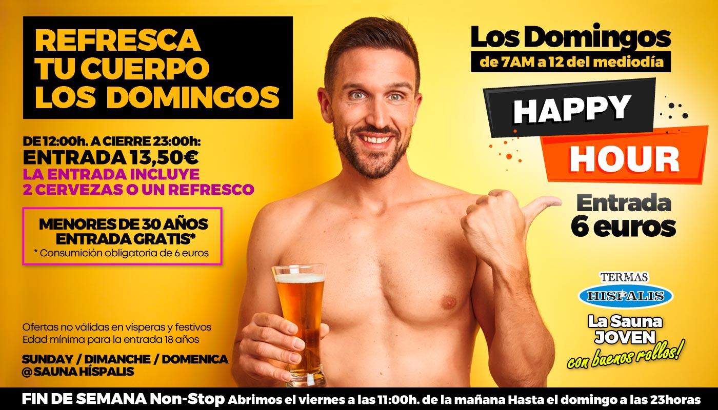 La mejor Sauna Gay de Sevilla Sigue la Fiesta en Termas Híspalis